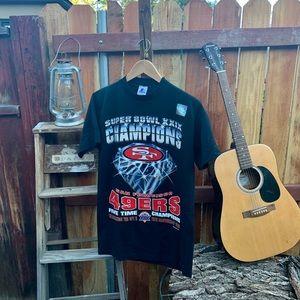 Vintage 49ers never worn Starter Champion shirt.